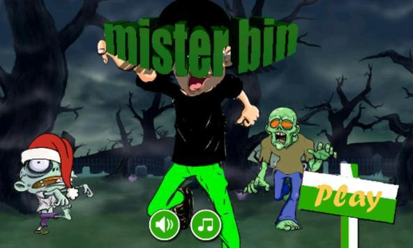 mister bin adventure poster