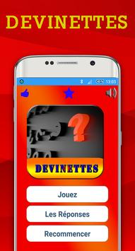 Devinettes poster