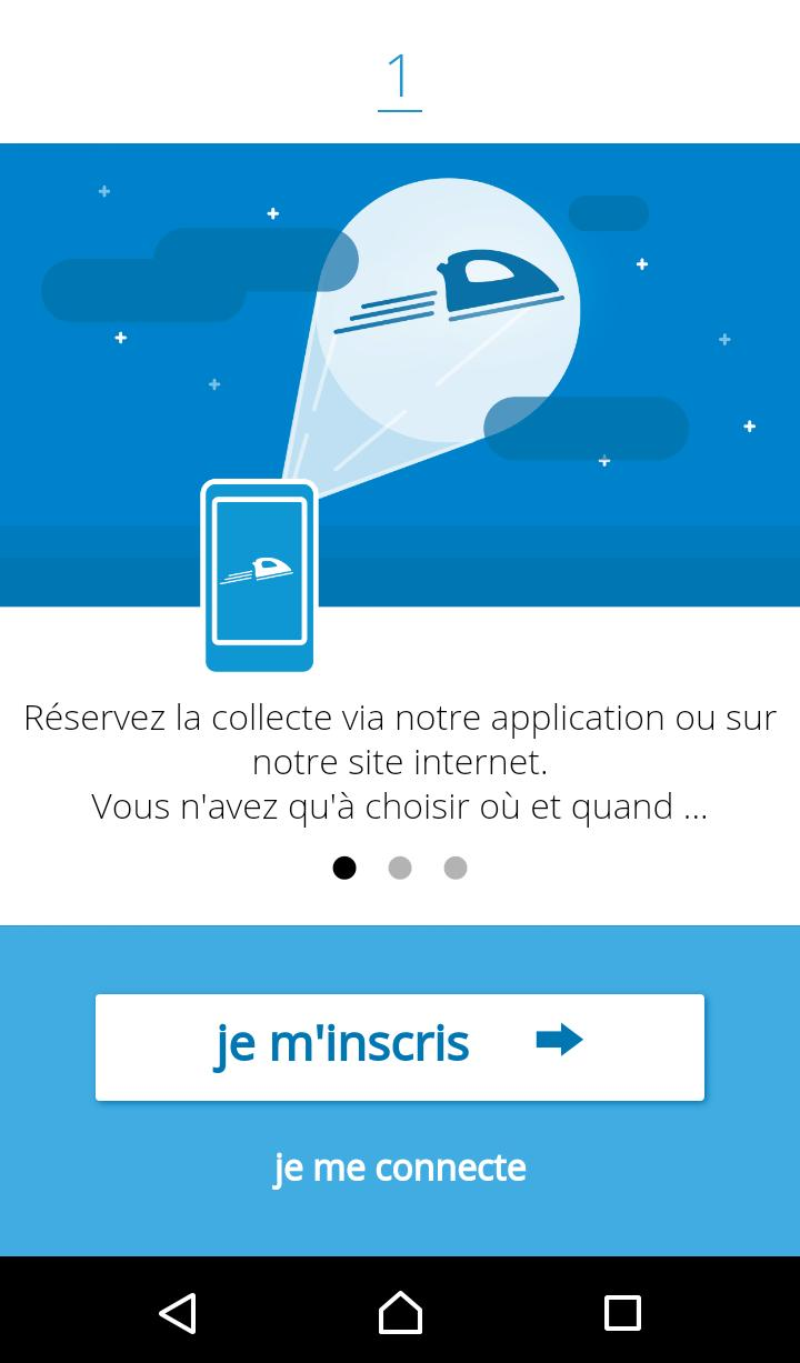Washapp Pressing à domicile for Android - APK Download