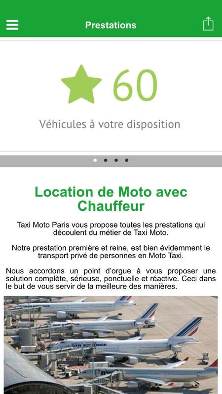 taxi moto paris ile de france apk download free undefined app for android. Black Bedroom Furniture Sets. Home Design Ideas