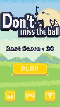 Don't miss the ball apk screenshot