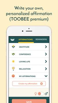 TOOBEE FREE Mindfulness Coach screenshot 2