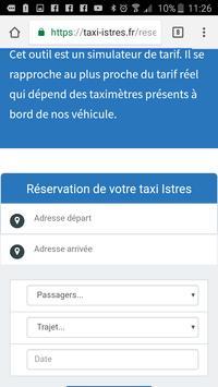 Taxi Istres apk screenshot