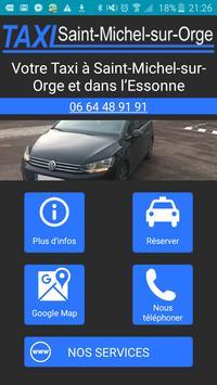 Taxi Saint-Michel-sur-Orge Essonne poster