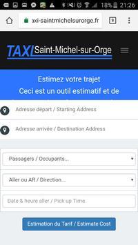 Taxi Saint-Michel-sur-Orge Essonne apk screenshot