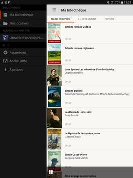 France Loisirs Suisse eBooks apk screenshot