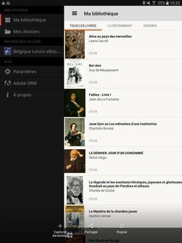 Belgique Loisirs eBooks apk screenshot