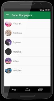 Super Wallpapers apk screenshot