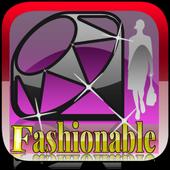 fashionable icon