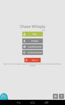 ChaseWhisply blue one poster