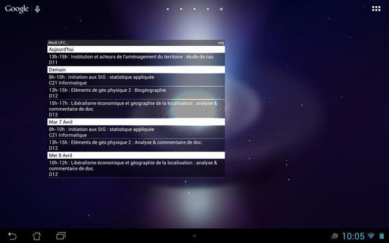 EDT UFC widget apk screenshot
