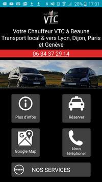 VTC Beaune, votre chauffeur privé à Beaune poster