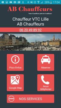 AB Chauffeurs, votre VTC à Lille poster