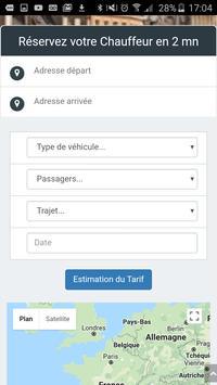 AB Chauffeurs, votre VTC à Lille apk screenshot