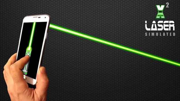 Laser Pointer X2 (PRANK AND SIMULATED APP) screenshot 3