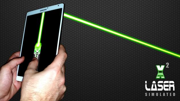 Laser Pointer X2 (PRANK AND SIMULATED APP) screenshot 11