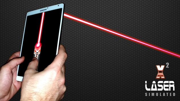 Laser Pointer X2 (PRANK AND SIMULATED APP) screenshot 12