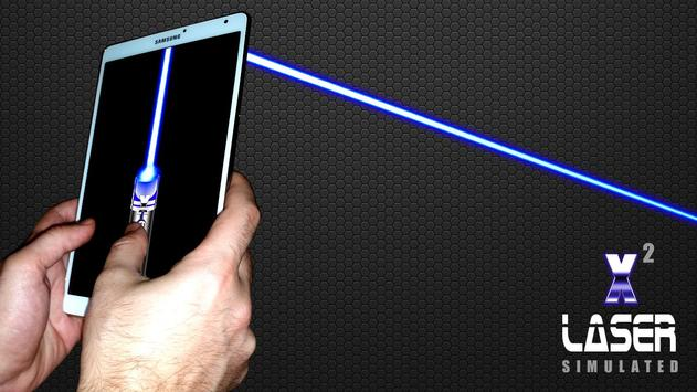 Laser Pointer X2 (PRANK AND SIMULATED APP) screenshot 7