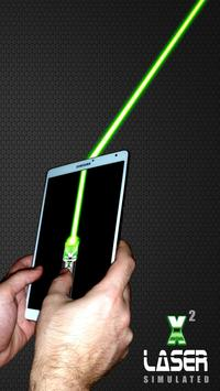 Laser Pointer X2 (PRANK AND SIMULATED APP) screenshot 8