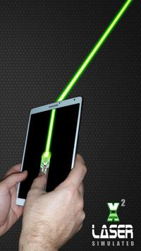 Laser Pointer X2 (PRANK AND SIMULATED APP) screenshot 9