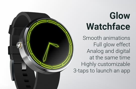 Glow Watch Face poster