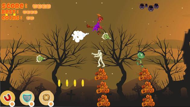 Halloween Girl Witch Monsters screenshot 3