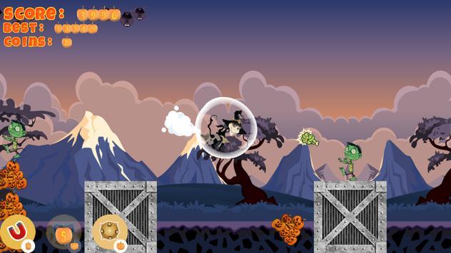 Halloween Girl Witch Monsters screenshot 4