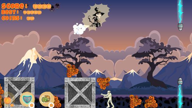Halloween Girl Witch Monsters screenshot 5