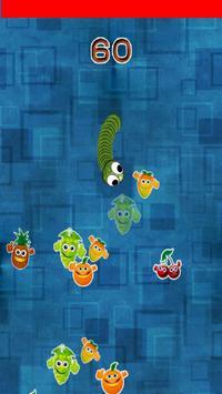 Green fruit worm apk screenshot