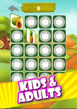 Memory Game - Fruits screenshot 5