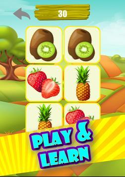 Memory Game - Fruits screenshot 8