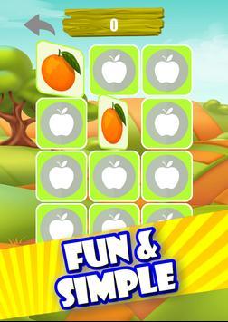Memory Game - Fruits screenshot 9