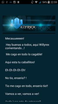 Frases Willyrex apk screenshot