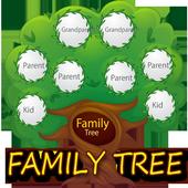 Family Search Tree : design a family tree icon
