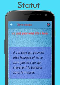 Statut pour French screenshot 2