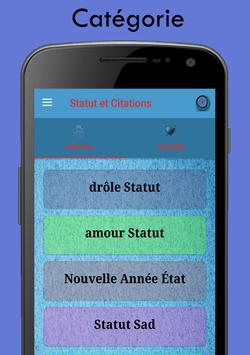 Statut pour French screenshot 3