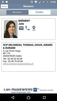 Annuaire notaires Loire-Atlantique apk screenshot