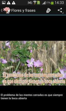 Frases bonitas y flores screenshot 3