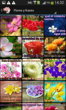 Frases bonitas y flores screenshot 1