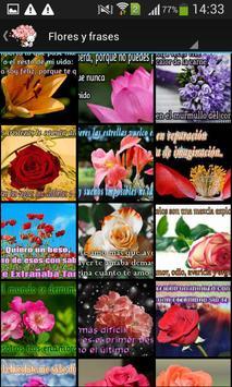 Frases bonitas y flores screenshot 2