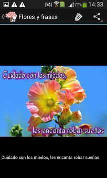 Frases bonitas y flores screenshot 4
