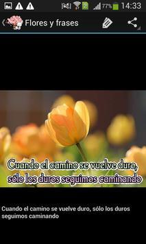 Frases bonitas y flores screenshot 5
