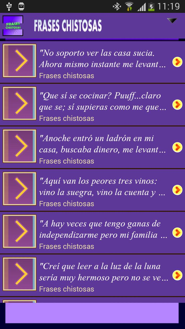 Frases Chistosas Cortas For Android Apk Download
