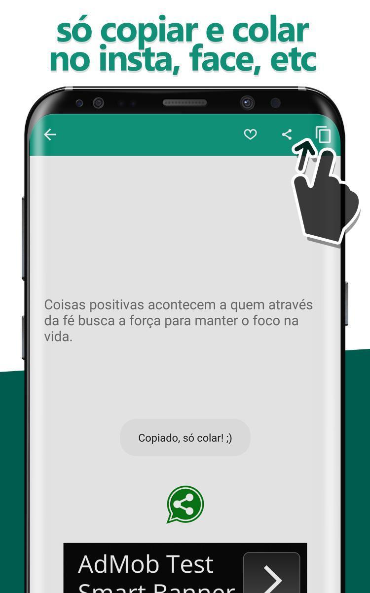 Frases Para Fotos E Status для андроид скачать Apk