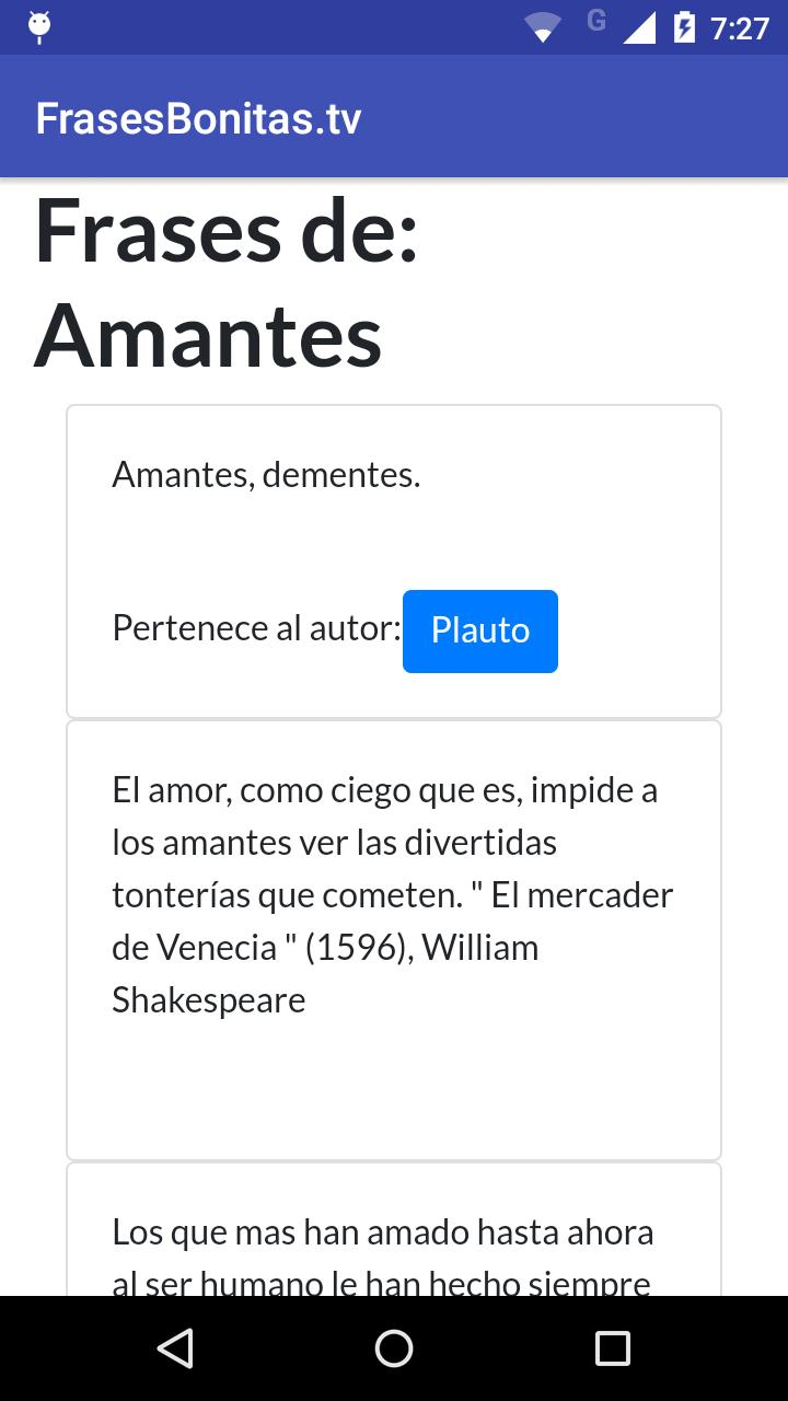 Frases Bonitas For Android Apk Download
