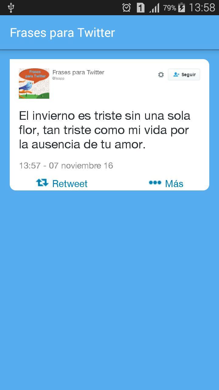 Frases Y Estados Para Twitter Für Android Apk Herunterladen