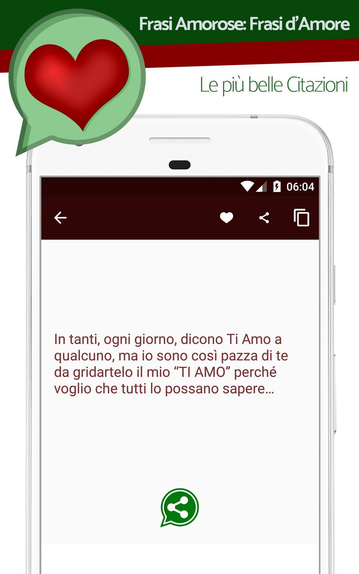 Immagini Di Frasi Amore.Frasi Amore For Android Apk Download