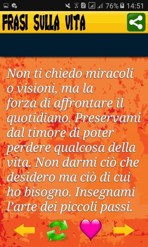 Frasi Della Vita Quotidiana.Frasi Sulla Vita For Android Apk Download