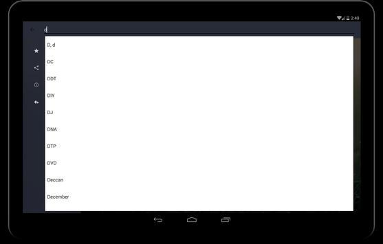 English to Hindi Dictionary screenshot 6