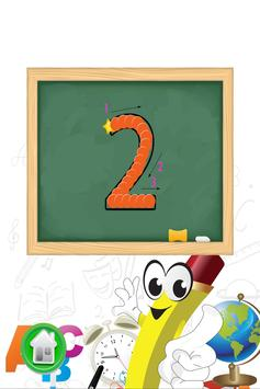 小孩学数字和学写数字 apk screenshot